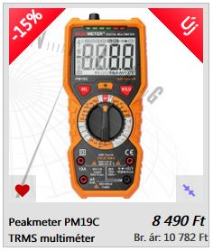 PM19C mutliméter TRU RMS