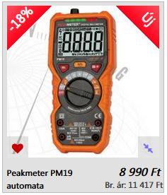PM19 mutliméter TRU RMS automata